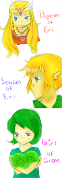 Servant of Evil: Legend of Zelda Version by Sakurabliss7