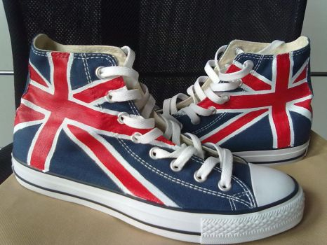 customized converse shoes on shoemycolor by elleflynn