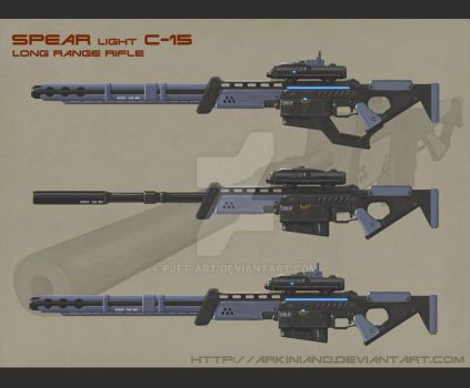 Ghost Rifle by FJFT-Art