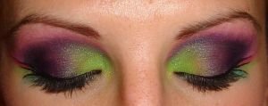 green and purple shadow by EleeceFace