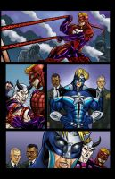 MAJESTIC XII PAGE SIX COLOR by MAJESTIC-XII-COMIC