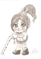 Vanellope by egyptice