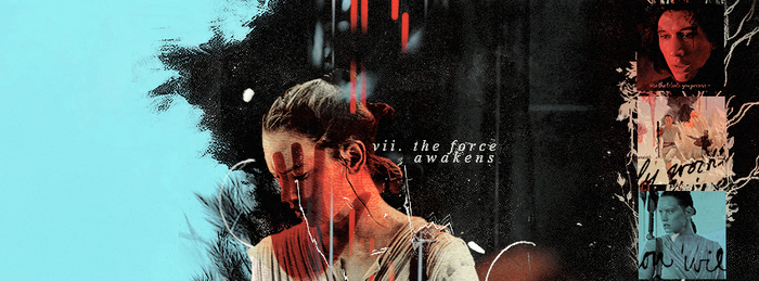 'SW: The Force Awakens' Facebook cover | Winterowl by taxitoheaven