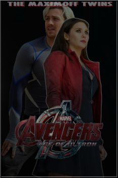 AoU Scarlet Witch and Quicksilver by Art-Master-1983