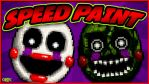 Adventure Puppet - SPEEDPAINT - FNAF World by GEEKsomniac