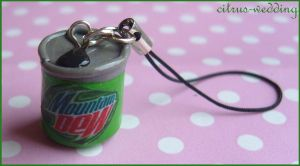 mountain dew phonecharm by citruscouture