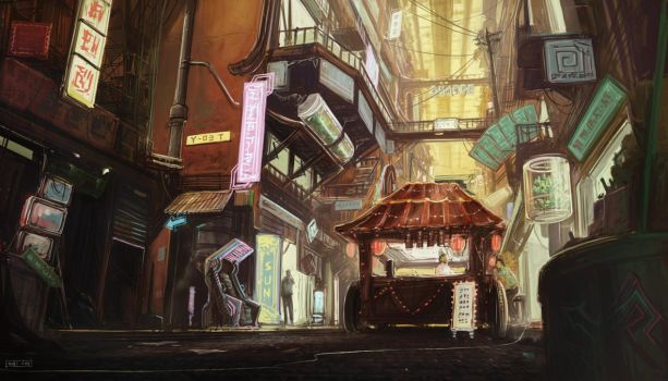 Nocturne - Civilian Sector by Skyrion