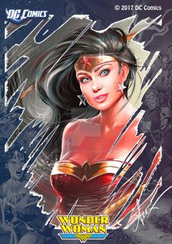 Wonder Woman 2017 re touch by Russian87