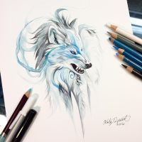 Winter Wolf by Lucky978