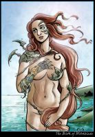 The Birth of Witchblade by CitizenWolfie