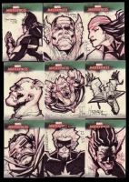 Marvel Masterpiece Cards set3f by BenHerrera