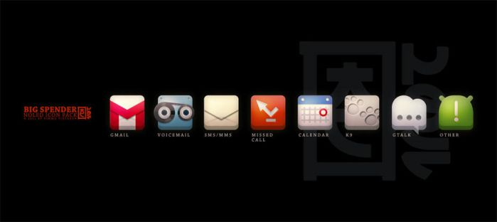 BIG SPENDER - NoLED icon pack by KVirtanen