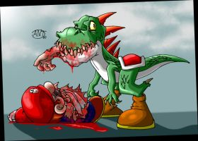 Yoshi, the Man Eater by AntManTheMagnif
