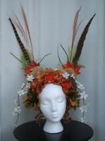 Large Forest Headpiece by Mrs-SaxoBeat