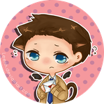 Castiel by Leenh