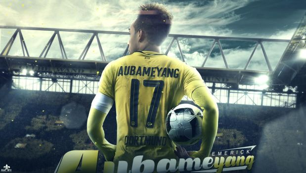 Pierre-Emerick Aubameyang Wallpaper by FLETCHER39