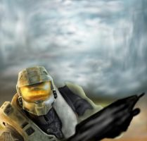 Master Chief - WIP by Thechaser704141