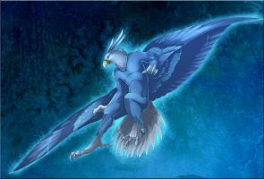 Comish - Talons of Ice by TwilightSaint