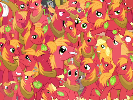 Too Much Big Macintosh by X-TURENT