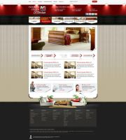 web design: MJ Flooring by VictoryDesign