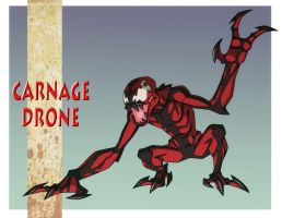 USM: CARNAGE DRONE by Jerome-K-Moore