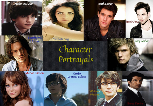Character Portrayals - Collage by XxBuggxX