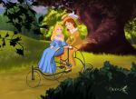 Alice and Wendy - On Gilded Times by mandygirl78