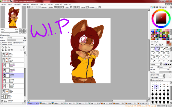 .:W.I.P:. by chimcharfan