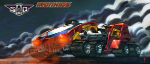 Art for Ironhide, vehicle by Tf-SeedsOfDeception