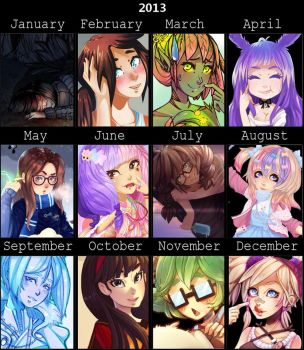 2013 art meme by LuckyXClover