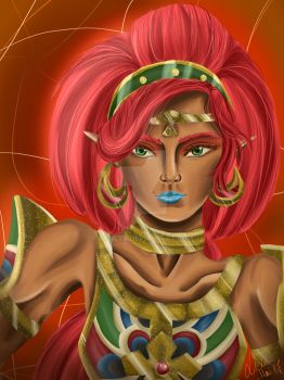 Urbosa Fanart by Allicya
