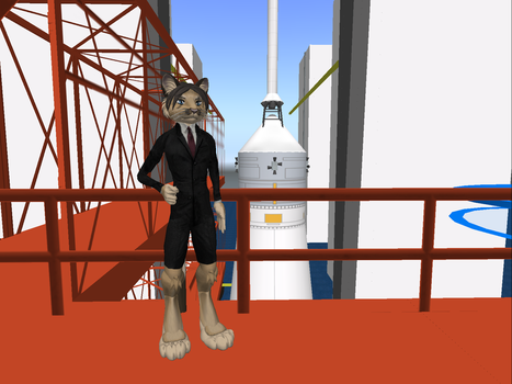 Me, standing infront of Apollo Saturn 5 by Macmaker101