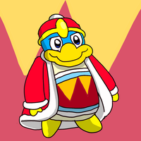 King Dedede, the Supahnatural Warriah by GoForAPerfect2010