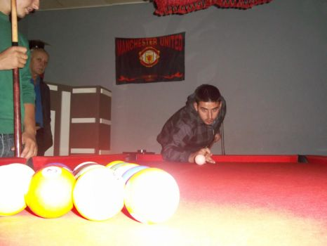 game of pool by f3hmii