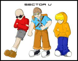 Sector V Boys--Anime-ted by MistyGlow