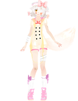 [MMD] [FNAF] |WIP 2 |||Mangle| ver. 2| FINAL by Natsumy-Paradise