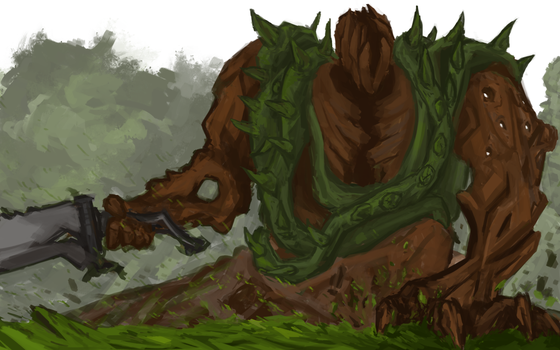 Forest Giant by Alagai