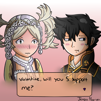 Fire Emblem Valentine by thegamingdrawer