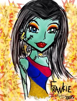 Frankie Stien ipad drawing by Tokyo-Trends