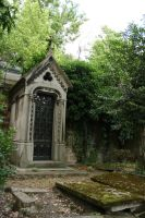 Pere Lachaise grave IV by deadenddoll-stock