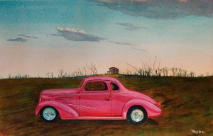 1937 Chevy at Sunrise by hank1