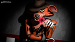 Oh, I've been waiting for you (Foxy SFM Wallpaper) by gold94chica