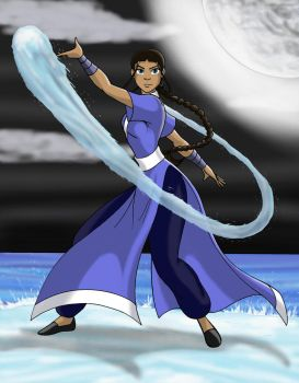 Katara - Moonlight by JosephB222