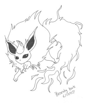 flareon by gamecandy