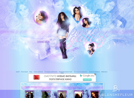Vanessa Hudgens Coppermine theme by blanshefleur