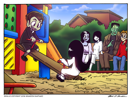 13 Days of ERMA-WEEN: Day 13 by BJSinc