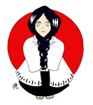 Prize: Unohana for LoveHalibel by RomaniaBlack