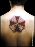 tattoo umbrella corp by gilrizzo