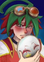 Behind the mask of a clown by yong-rein