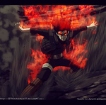 Naruto 668 The Red Beast Lives by IITheYahikoDarkII